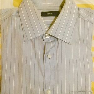 Authentic Hugo Boss Men's Button Down French Cuff